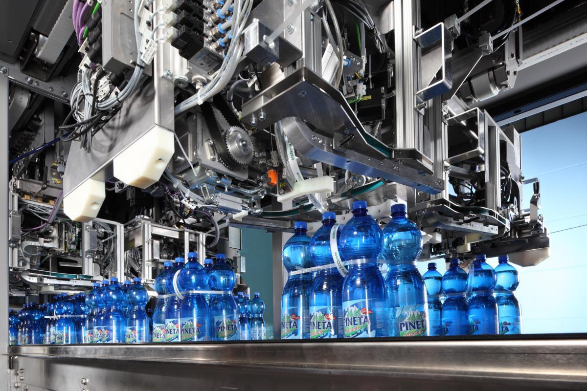 بسته بندی آب معدنی