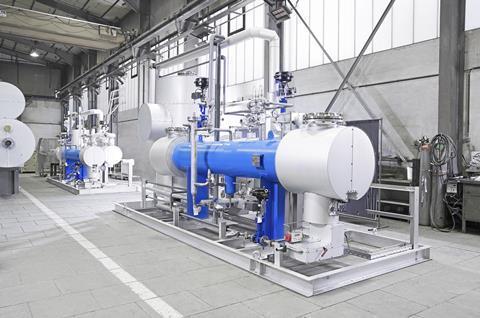 کارخانه تولید گاز کربنیک