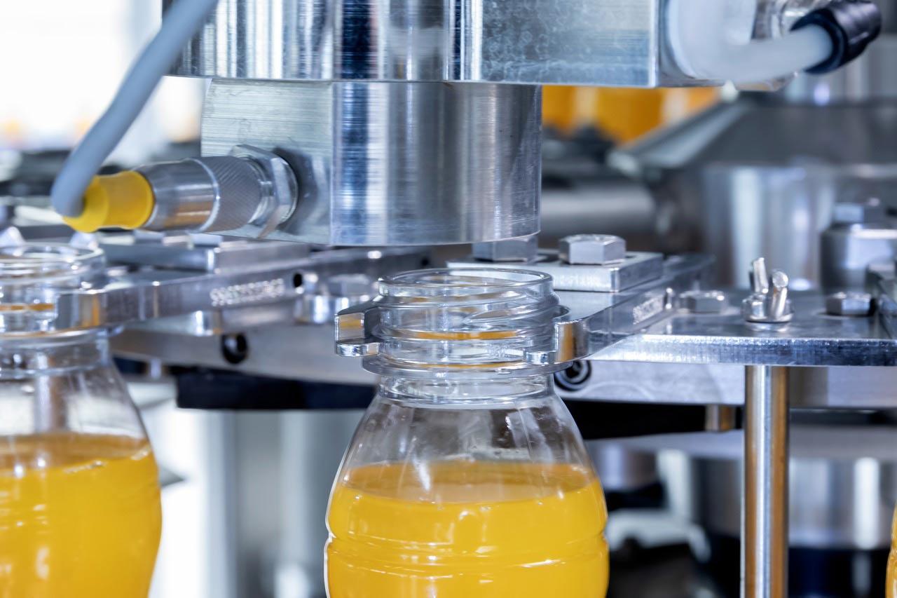 خط تولید آب میوه شیشه