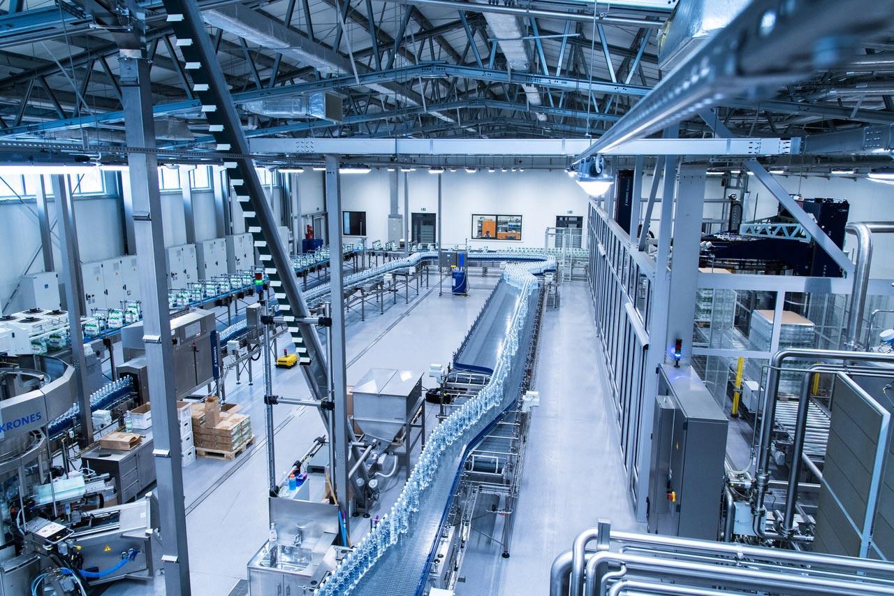 ماشین آلات خط تولید آب معدنی