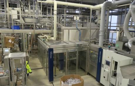 خط تولید آب و نوشیدنی های گازدار پت